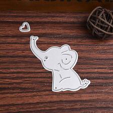 Elephant Baby Cutting Dies Stencil Scrapbooking Album Embossing Card DIY