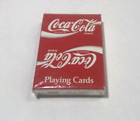 Coca Cola Vintage Playing Cards U.S. Playing Card Co. Bridge Size Sealed Deck