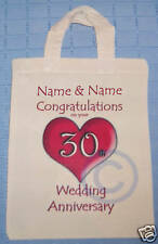 PERSONALISED - 30th WEDDING ANNIVERSARY GIFT BAG Pearl