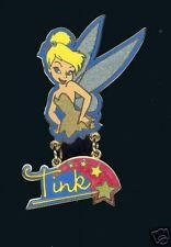 Disney Tinkerbell Tink Glitter Dangle Pin