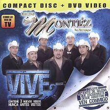 CD NEW/Sealed Grupo Montez De Durango VIVE 2 Disc Set (CD & DVD)