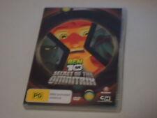 DVD Ben 10 Secret Of The Omnitrix (Very Good Condition)