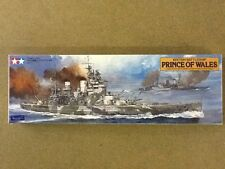 TAMIYA 1/350 WW II BRITISH BATTLESHIP PRINCE OF WALES PLASTIC  KIT # 78011 F/S