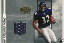 2003 LEAF CERTIFIED MATERIALS MUSA SMITH JERSEY RC