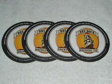 4-DRY DOCK BREWING Company Aurora,CO Beer Coasters G.A.B. GOLD MEDAL Winner 2012