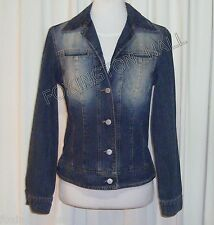 BEAUTIFUL UNITED COLORS OF BENETTON BLUE DENIM JACKET size S Made in Italy