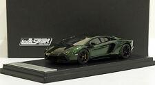 Looksmart 1/43 Lamborghini Aventador Lp700-4 Verde Psyche Mr Ls384F