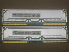 1GB 2 x 512MB  for Dell Dimension 8100 8200 8250 RDRAM Rambus Rimm 800-40 40ns