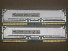 1GB 2 x 512MB  for Dell Dimension 8100 8200 8250 RDRAM Rambus Rimm 800-40 40ns