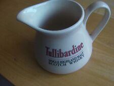 Rare Tullibardine Single Highland Malt Whisky Water Jug / Pub Jug/Whisky Jug,vgc