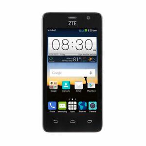 GSM Unlocked - ZTE Sonata 2 Z755 (Cricket) Android 5MP 4G LTE Smartphone Black