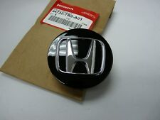 "GENUINE HONDA BLACK WHEEL CENTER CAP W/ CHROME ""H"" 44732-TR3-A01"