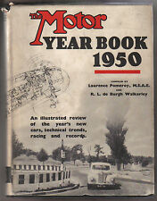 Motor Year Book 1950 annual giving new cars, technical trends, racing & records