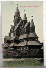 Postcard Norway 1914 - Hitterdals Stavkirke, Telemarken - Norge