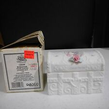 Precious Moments Bridesmaid Trunk Shape Covered Box #135038