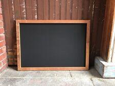 Rustic Wall Hung Chalkboard, Reclaimed Wooden Menu Board Wooden Blackboard