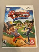 Backyard Sports: Sandlot Sluggers - Nintendo  Wii Game