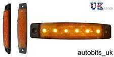 1 X 12V 12 VOLT LED AMBRA ARANCIO SIDE MARKER LUCE POSIZIONE CAMION RIMORCHIO CAMION