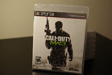Call of Duty: Modern Warfare 3 (Sony Playstation 3, 2011) *New / Factory Sealed