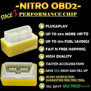 OBD2 NITRO PERFORMANCE CHIP GAS/FUEL SAVER ALL ISUZU MODELS 1996-2021
