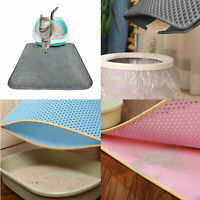 Waterproof Cat Litter Trapping Mat EVA Pet Puppy Dog Non-Slip Bottom Pad SE#N