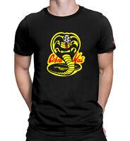 Cobra Kai Dojo Karate Movie 80's Sweep The Leg Kid Retro Costume Men's T-shirts
