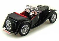 1947 MG TC MIDGET BLACK 1:18 DIECAST MODEL CAR BY ROAD SIGNATURE 92468