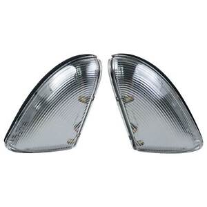 Pair Front Mirror Turn Signal Light Lamps for Dodge Ram 1500 2009-13 2500 10-13
