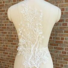 Wedding Bridal Dress Flower Tree Embroidered Lingerie Lace Fabric DIY AU