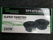"New listing Timpano Tpt-St2 Black Pair 4"" Super Tweeter - Black"