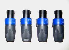 4 Stück Speakon Stecker Neutrik NL4FX 4 Stück für Boxenkabel Lautsprecherkabel