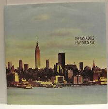 """7"""" VINYL SINGLE. P/S. Heart of Glass b/w Her Only Wish by The Associates YZ310."""