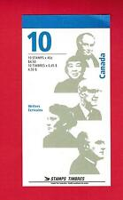 1997 TIMBRES CANADA STAMPS  BOOKLET # BK195 ** CANADIAN AUTHORS  M-15