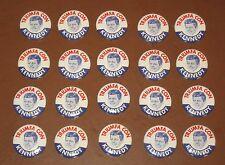 Vintage 1960 Lot of 20 Original Triumfa Con Kennedy Pinback Button Pin John JFK
