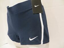 NIKE WOMENS DRI FIT RUNNING SHORTS NAVY BLUE NWT SIZE SMALL