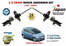 FOR TOYOTA VERSO 2.0 2.2 D4D MPV 2009-> 2X FRONT LEFT RIGHT SHOCK ABSORBER SET