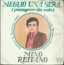 """7"""" Nino Reitano/Meglio Una Sera (Piangere Da Solo) Italy (San Remo 1969)"""