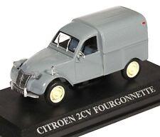 1:43 Altaya - Citroën 2 CV Fourgonnette 1958 - grau