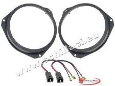Adattatori altoparlanti Casse 165 mm + connettori  per Peugeot Boxer portiere an