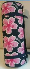 Tommy Hilfiger Yoga Exercise Mat Blue with Pink flowers Tropical