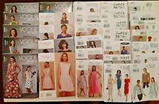30 Vogue New Plus Size Patterns Lot No Dupes Designer Fashion Clothing Wardrobe