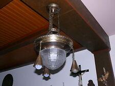 große prunkvolle Jugendstil Lampe Deckenlampe Jugendstillampe Original ca. 1910
