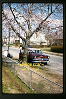1961 Mercury Car on Oakley Ave. in Elmont New York, Original Slide a13a