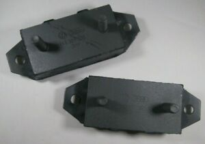 VW Bug Bus Ghia Transmission Mount Set (QTY 2) OE Made In Germany Mount 50-1972