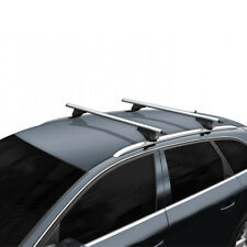 Solid Roof Bars Longitudal flush Integrated Roof Rails Solid Rail Roof Bars pair