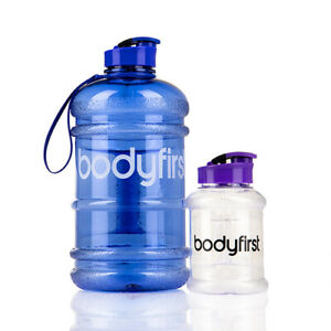 Bodyfirst BPA Free Water Bottle with Flip Drinking Cap 350ml and 2.2 Litre