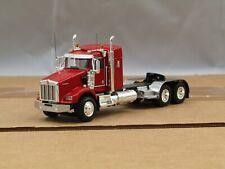"Dcp Custom red Kenworth T800 38""sleeper tractor 1/64"