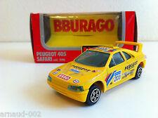 B Burago - Peugeot 405 Safari 12è Ralye Paris Dakar (1/43)