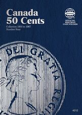 Canadian 50 Cents No. 4, 1953-1967, Whitman Coin Folder
