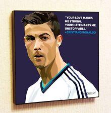 Cristiano Ronaldo Painting Decor Print Wall Art Poster Canvas pop Style